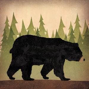 Take a Hike Bear no Words by Ryan Fowler
