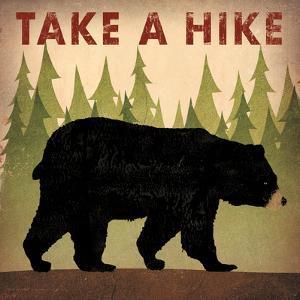 Take a Hike Black Bear by Ryan Fowler