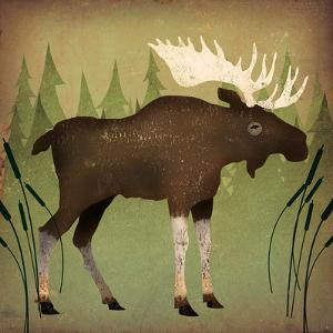 Take a Hike Moose no Words by Ryan Fowler