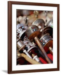 Prayer Wheels for Sale, Kathmandu, Nepal by Ryan Fox