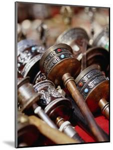 Prayer Wheels for Sale, Kathmandu, Nepal by Ryan Fox