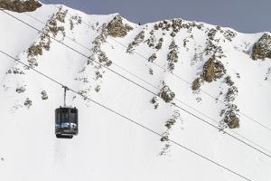 Lone Peak Tram, Big Sky Resort, Montana by Ryan Krueger