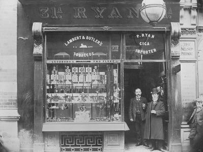 Ryan's Tobacco Shop, Henry Street, Dublin, Ireland, C.1900--Photographic Print