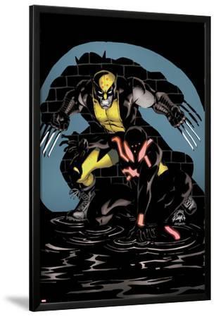 Scarlet Spider #18 Cover: Wolverine, Scarlet Spider