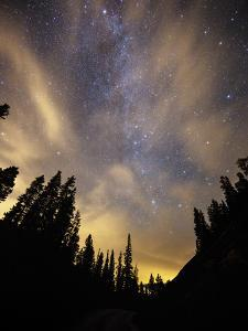 The Night Sky Above the Town of Breckenridge, Co. by Ryan Wright