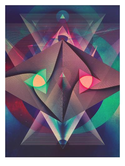 Rybwwt (Warm Alternate)-Spires-Art Print