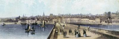 Ryde from the Pier, Isle of Wight, 19th Century--Giclee Print