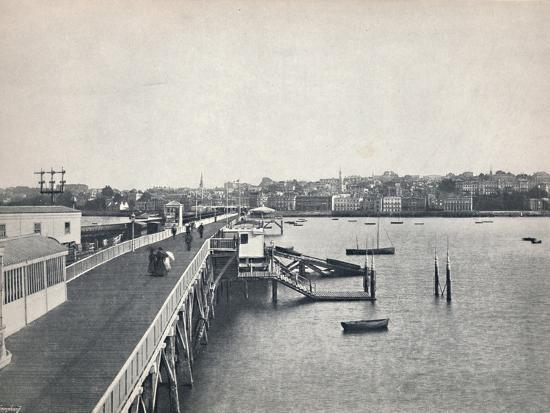'Ryde - View from the Pier', 1895-Unknown-Photographic Print