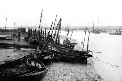 Rye Harbour, East Sussex, England, 1924-1926-HS Newcombe-Giclee Print