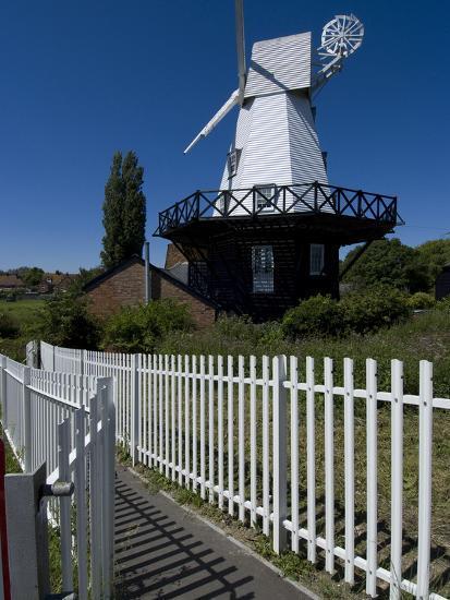 Rye Windmill, Rye, East Sussex, England, United Kingdom, Europe-Ethel Davies-Photographic Print