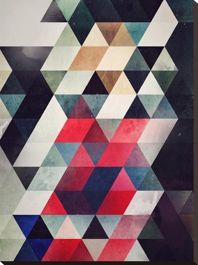 Ryplycmynt Yttympt-Spires-Stretched Canvas Print