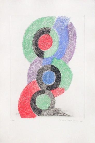 Rythmes colorés-Sonia Delaunay-Terk-Limited Edition