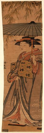 Ryuka No Odoriiko-Torii Kiyonaga-Giclee Print