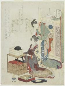 Yellow of Boxwood Comb, C. 1820 by Ryuryukyo Shinsai