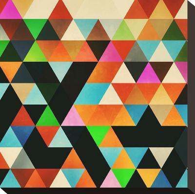Ryylld Pyg-Spires-Stretched Canvas Print