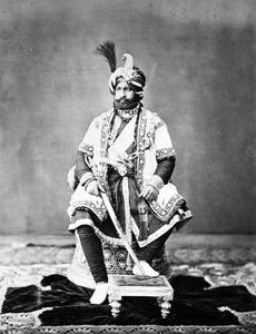 Maharaja of Jammu and Kashmir, 1877 by S. Bourne and C. Shepherd
