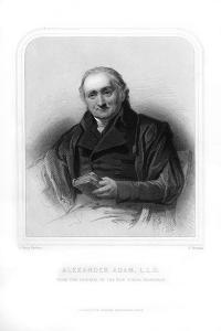 Alexander Adam, Scottish Teacher and Writer on Roman Antiquities by S Freeman