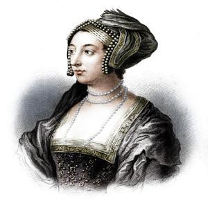 Anne Boleyn, second wife of Henry VIII, (19th century) by S Freeman