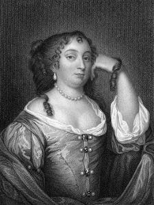 Anne Hyde, Duchess of York, Mother of Mary II and Queen Anne, 1825 by S Freeman
