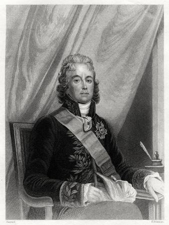 Charles Maurice De Talleyrand-Perigord, French Diplomat, 19th Century