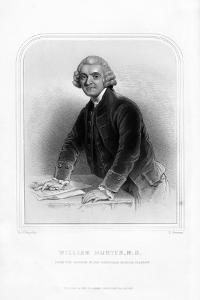 Dr William Hunter, Scottish Anatomist and Obstetrician by S Freeman