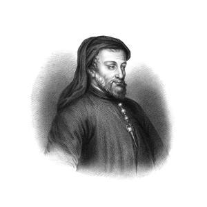 Geoffrey Chaucer, 14th Century English Author, Poet, Philosopher, Bureaucrat, and Diplomat by S Freeman