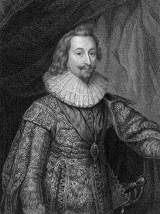 George Villiers, 1st Duke of Buckingham (1592-162), 1824 by S Freeman