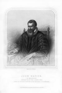 John Napier, Scottish Mathematician, Physicist, Astronomer and Astrologer by S Freeman