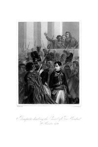 Napoleon Bonaparte (1721-181) Dissolving the Council of Five Hundred, 1845 by S Freeman