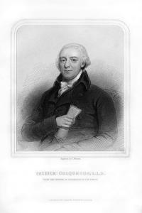Patrick Colquhoun, Scottish Police Magistrate and Statistical Writer by S Freeman