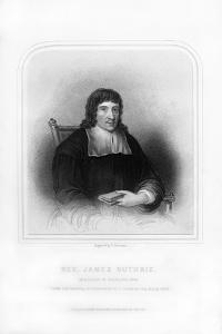 Reverend James Guthrie, Minister of Stirling, 1661 by S Freeman