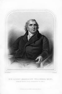 Sir Henry Moncrieff Wellwood, Scottish Clergyman by S Freeman