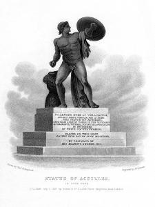 Statue of Achilles, Hyde Park, London, 1827 by S Freeman