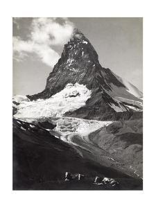 Near Zermatt, Switzerland. the Matterhorn Is One of the Best known Mountains in the Alps by S. G. Wehrli
