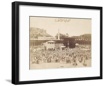 Praying around the Kaaba, Mecca, 1900