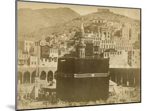 The Kaaba, Mecca, 1900 by S. Hakim
