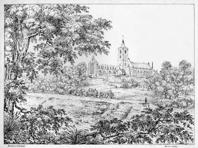 'Dunblane Cathedral', c1812