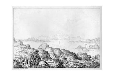 'Rum & Eigg from Loch Moidart', c1812