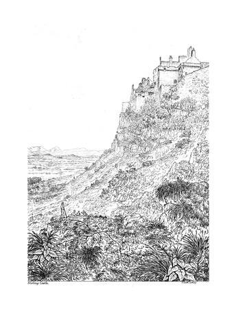Stirling Castle, Stirlingshire, 19th century