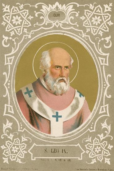 S Leo IX-European School-Giclee Print