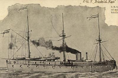 S.M.S Friedrich Karl, Panzerfregatte, Kriegsschiff--Giclee Print