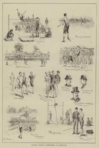 Amateur Athletic Championships at Birmingham by S.t. Dadd