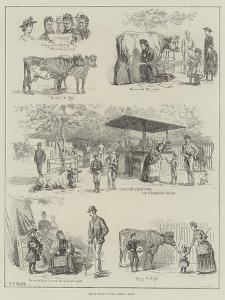 Milk Fair in St James's Park by S.t. Dadd