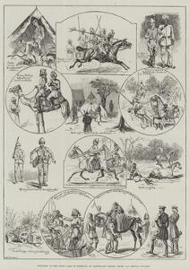 Sketches at the Delhi Camp of Exercise by S.t. Dadd