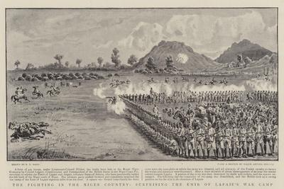 The Fighting in the Niger Country, Surprising the Emir of Lapaie's War Camp