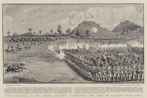 The Fighting in the Niger Country, Surprising the Emir of Lapaie's War Camp by S.t. Dadd