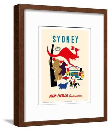 Sydney, Australia - Koala Bears, Kangaroo, Sydney Harbor - Air India International