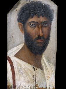 Fayum Portrait of a Bearded Man by S. Vannini