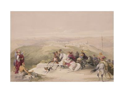 "Sabaste, Ancient Samaria, April 17th 1839, Plate 44 from Volume I of ""The Holy Land""-David Roberts-Giclee Print"