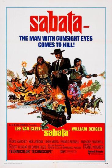 Sabata, (Aka Ehi Amico... C'E Sabata, Hai Chiuso!), 1969--Art Print